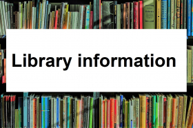 Link to the the libraries contact information and opening hours
