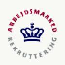 Logo for Styrelsen for Arbejdsmarked og Rekruttering
